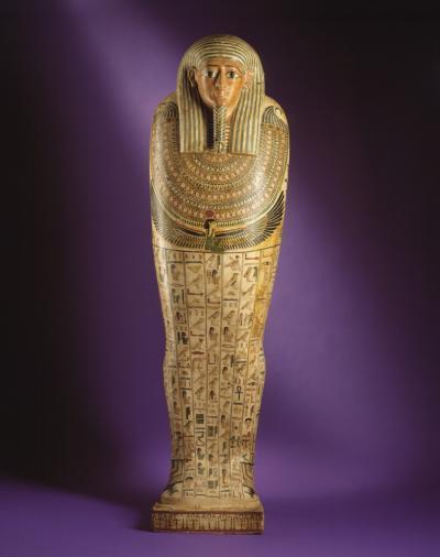Mummy's sarcophagus