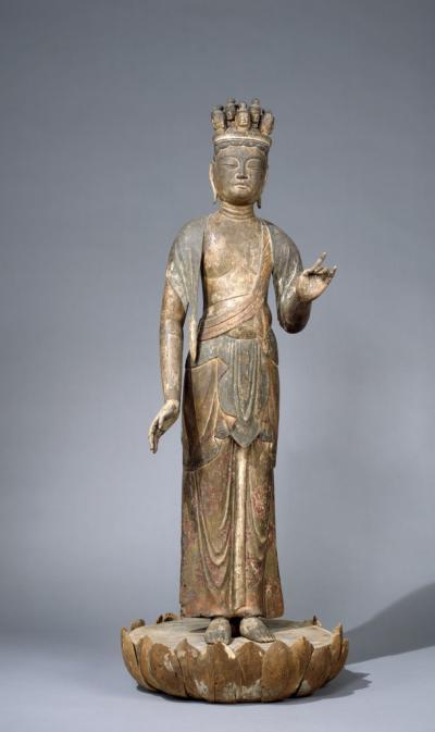 Statue of a bodhisattva