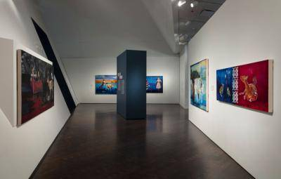 Gallery view of an Eyes On exhibition