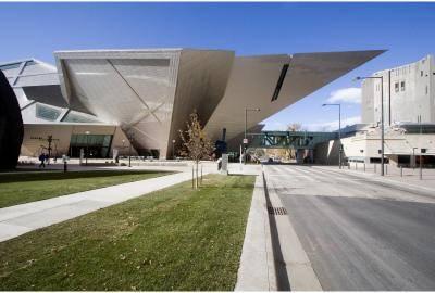 Denver Art Museum's Hamilton Buidling