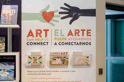 Art can help us connect/El arte puede ayudarnos a conectarnos