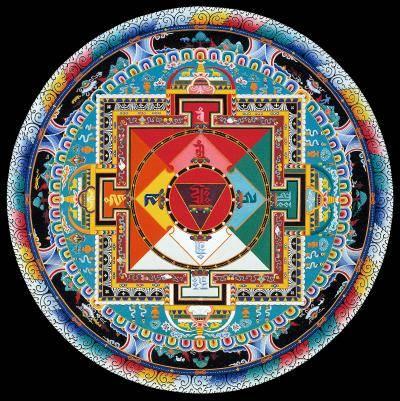 Multicolored Hayagriva Mandala