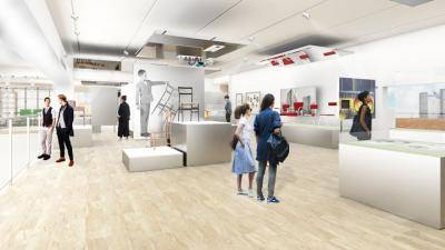 Joanne Posner-Mayer Mezzanine Gallery, rendering courtesy of OMA New York.