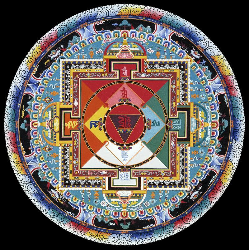 Relax With Coloring Mandala Denver Art Museum