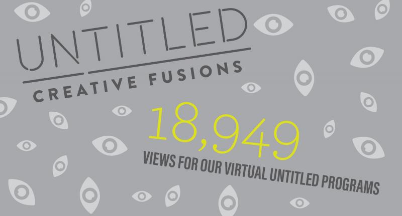 Untitled: Creative Fusions had 18,949 views on Facebook and YouTube