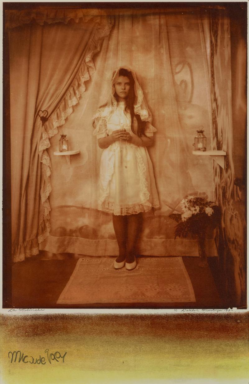 Photograph depicting La Malinche