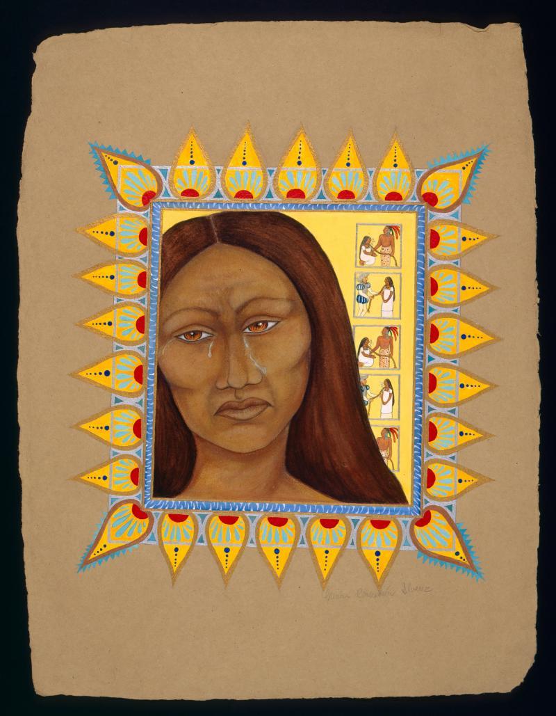 Portrait of La Malinche