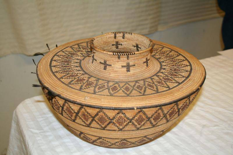 basket in American Indian collection